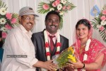Celebs at Art Director Mithran Jawahar Wedding Reception - 8 of 27