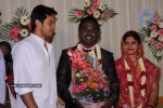 Celebs at Art Director Mithran Jawahar Wedding Reception - 12 of 27