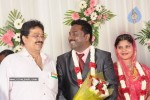 Celebs at Art Director Mithran Jawahar Wedding Reception - 14 of 27
