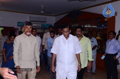 Chandrababu and Balakrishna Meet Superstar Krishna Family - 4 of 60
