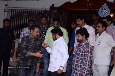 Chandrababu and Balakrishna Meet Superstar Krishna Family - 5 of 60