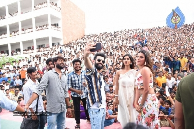 ISmart Shankar Movie Team At Guntur  - 1 of 21