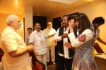 Manchu Mohan Babu Family with Modi - 10 of 23