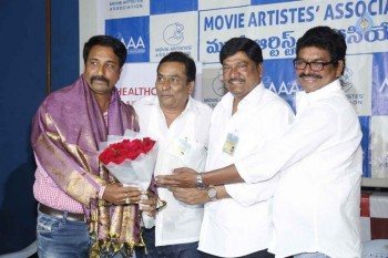 Movie Artist Association Press Meet - 8 of 34