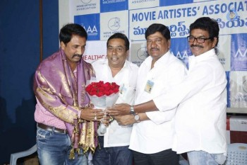 Movie Artist Association Press Meet - 9 of 34