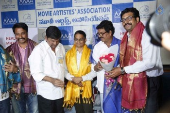 Movie Artist Association Press Meet - 11 of 34