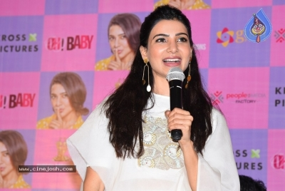 Oh Baby Movie Success Meet - 28 of 28