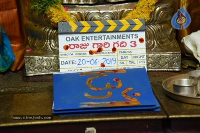 Raaju Gari Gadhi 3 Movie Launch - 9 of 10