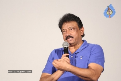 Ram Gopal Varma Press Meet about Lakshmi's Ntr - 5 of 16