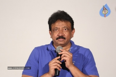 Ram Gopal Varma Press Meet about Lakshmi's Ntr - 8 of 16