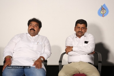 Ram Gopal Varma Press Meet about Lakshmi's Ntr - 10 of 16
