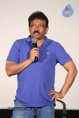 Ram Gopal Varma Press Meet about Lakshmi's Ntr - 15 of 16