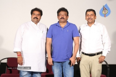 Ram Gopal Varma Press Meet about Lakshmi's Ntr - 16 of 16
