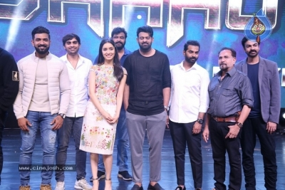 Saaho Grand Pre Release Event  - 34 of 77