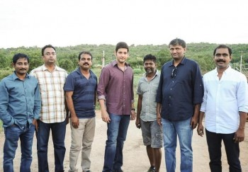 Srimanthudu Working Photos - 1 of 9