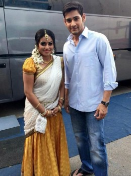 Srimanthudu Working Photos - 2 of 9