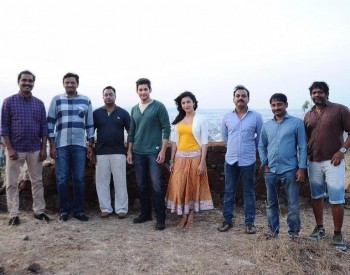 Srimanthudu Working Photos - 3 of 9