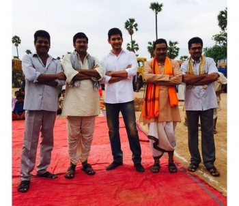 Srimanthudu Working Photos - 6 of 9