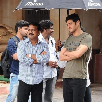 Srimanthudu Working Photos - 7 of 9
