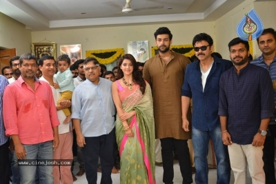 Venkatesh And Varun Tej F2 Movie Launch Photos - 8 of 48