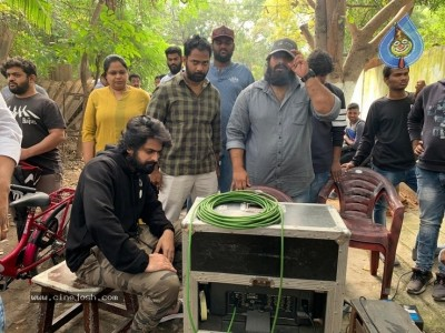 Aswathama Working Stills