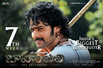 Bahubali 7th Week Posters :18-08-2015