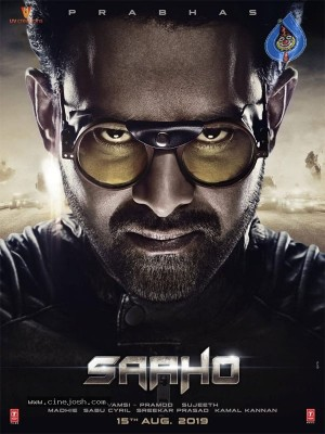 Saaho Movie Release Date Poster