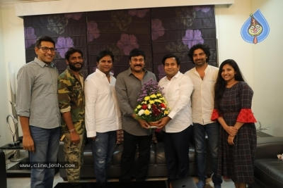 Chiranjeevi Appreciates George Reddy Team - 12 of 16