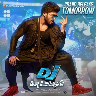 DJ Duvvada Jagannadham Releasing Tomorrow Posters - 1 of 3