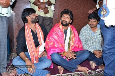 Gang Leader Team at Vijayawada Durga Temple - 2 of 21