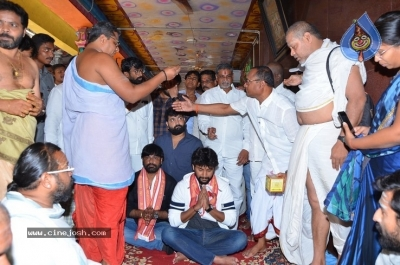 Gang Leader Team at Vijayawada Durga Temple - 3 of 21