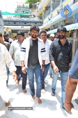 Gang Leader Team at Vijayawada Durga Temple - 6 of 21