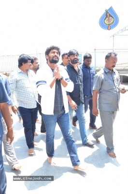 Gang Leader Team at Vijayawada Durga Temple - 8 of 21