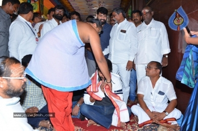 Gang Leader Team at Vijayawada Durga Temple - 9 of 21