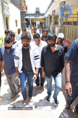 Gang Leader Team at Vijayawada Durga Temple - 12 of 21