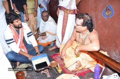 Gang Leader Team at Vijayawada Durga Temple - 15 of 21