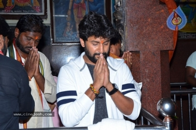 Gang Leader Team at Vijayawada Durga Temple - 20 of 21