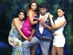 Vishal with three hot beauties in 'Khiladi' - 7 of 28