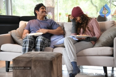 Manmadhudu 2 Working Stills - 2 of 17