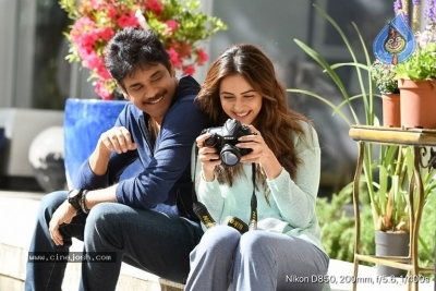 Manmadhudu 2 Working Stills - 7 of 17