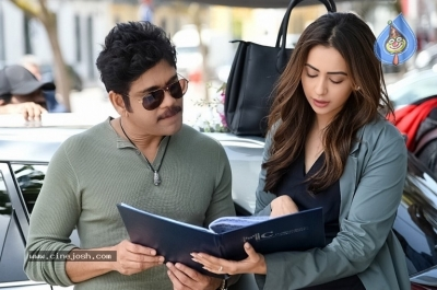 Manmadhudu 2 Working Stills - 11 of 17