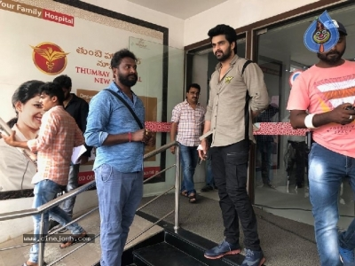 Naga Shaurya New Movie Working Stills - 6 of 8