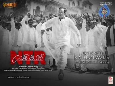 NTR Mahanayakudu New Poster n Still - 2 of 2