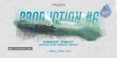 Swapna Cinema Production No 6 Announcement - 1 of 1