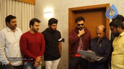 Venkatesh Launched Jai Sena Trailer - 1 of 21