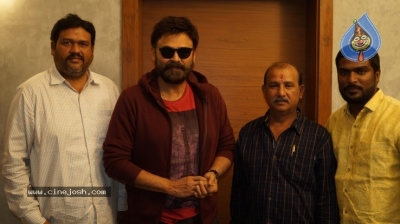 Venkatesh Launched Jai Sena Trailer - 4 of 21
