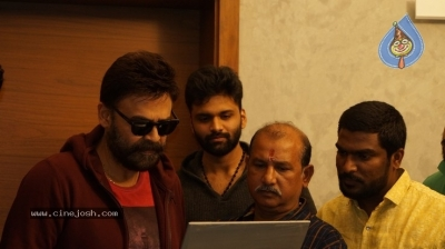 Venkatesh Launched Jai Sena Trailer - 6 of 21