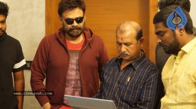 Venkatesh Launched Jai Sena Trailer - 7 of 21
