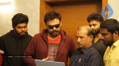 Venkatesh Launched Jai Sena Trailer - 8 of 21