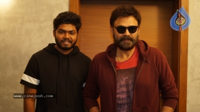 Venkatesh Launched Jai Sena Trailer - 9 of 21